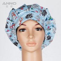 Hot New Pattern Printed Surgical Scrub Hats Cap Women Men Nurse Doctor Dentist Veterinarian Cap And