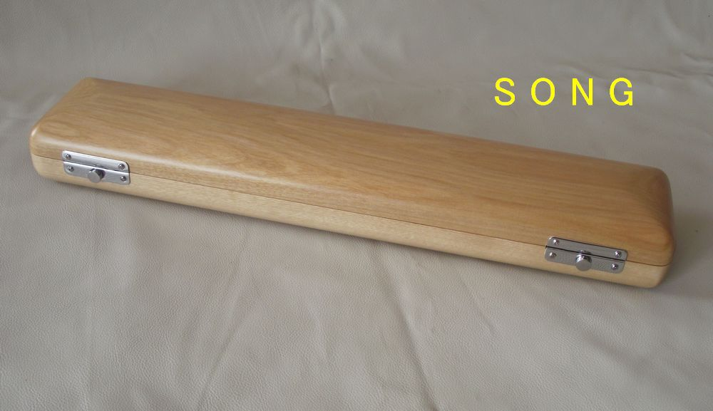 ФОТО 17 holes wooden flute case solid wood