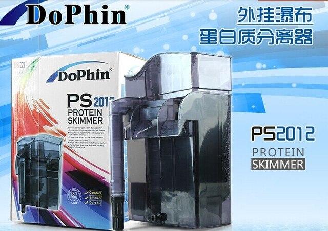 Acuario accesorios Malasia Dolphin PS 2012 PS-2012 Filtro externo con skimmer de proteínas para nano tanque cascada de filtro