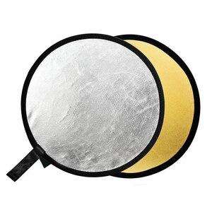 "Image 2 - Godox 31.5 ""80 cm 2 in 1 Draagbare Inklapbare Light Ronde Fotografie Reflector voor Studio Multi Photo Disc"