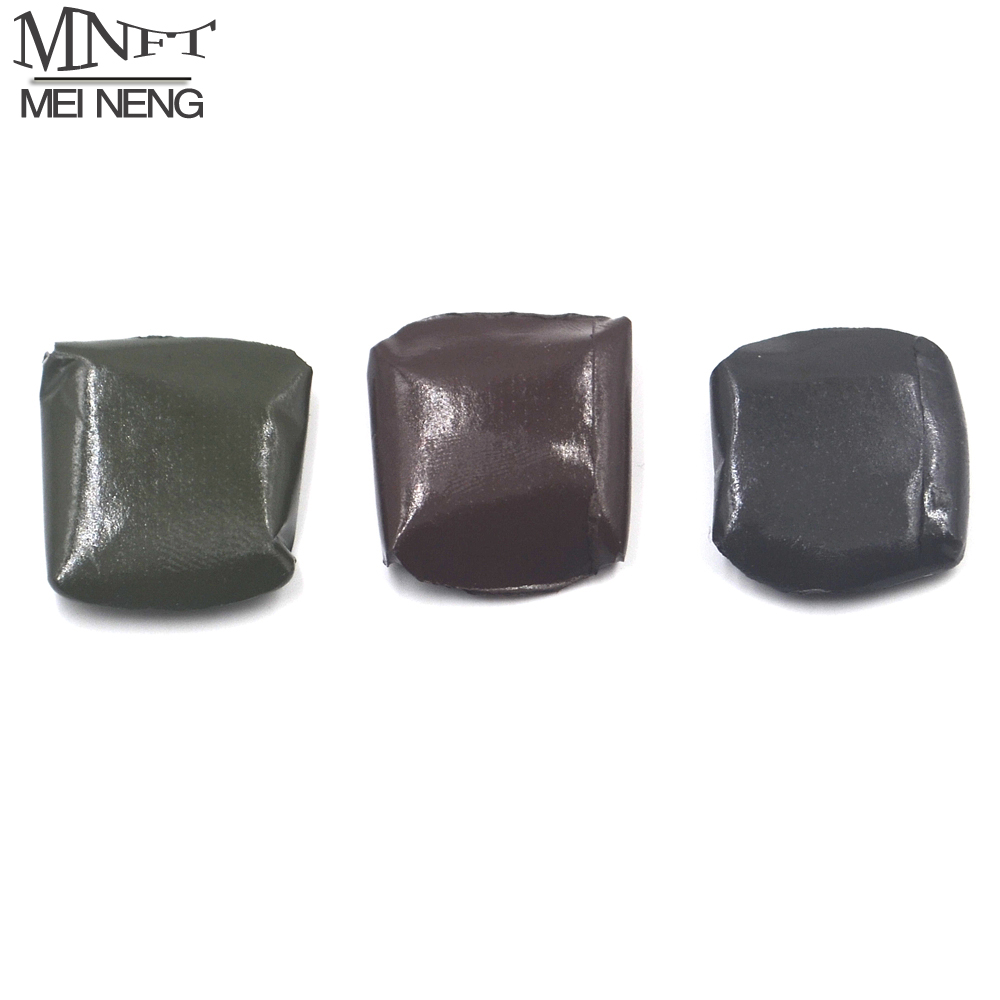 MNFT 15g Nymphing Mud Soft Tungsten Putty Sinker Fly Fishing Weight Tungste Mud for Chod Rig Tubing Carp Fishing Terminal Tackle wifreo 30pcs bag soft fake floating tiger nut bait pop ups scorpion carp rig pop up rig big carp fishing tackle s m