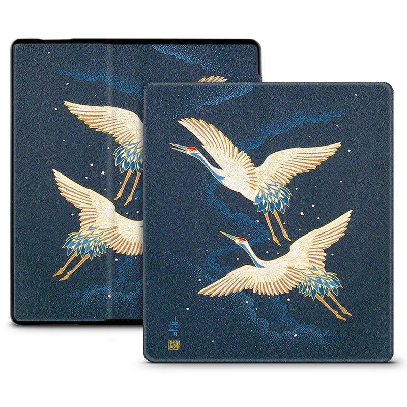 Slim Printed PU Leather Case for 2017 Amazon Kindle Oasis 2 for New Kindle  Oasis 7 0