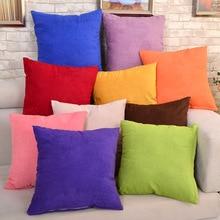 New 1pc Velvet Pillow Sofa Waist Throw Cushion Cover Home Decor Cushion Cover Case home decoration accessories Pillow Cover цены