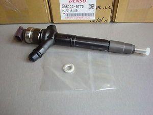 ORIJINAL MARKA YENI dizel yakıt enjektörü 095000-9770, 095000-9771, 23670-51040, 23670-51041, 23670-51010, 23670-59017