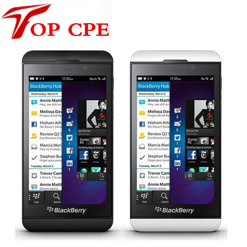 """Цена за Восстановленное blackberry z10 z10 оригинальный разблокирована телефон 4.2 """"емкостный экран 4 г сеть 8.0mp камера gps wifi телефон"""
