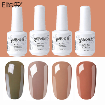 Elite99 Nude Gel Nagellack 15ML Soak Off UV Gel Nail art Lack Semi Permanent Gel Lack Maniküre Lack gel Polnisch
