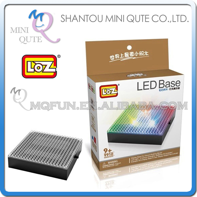 Model Building Wholesales 48 Pcs/lot Mini Qute 3d Led Display Case Loz Diamond Block Plastic Cube Building Blocks Brick Educational Toy Game To Have A Unique National Style Back To Search Resultstoys & Hobbies