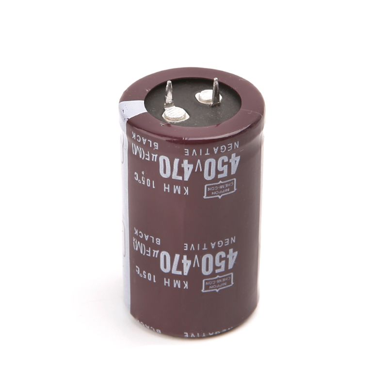 Electric Welder 450V 470uF Aluminum Electrolytic Capacitor Volume 30x50