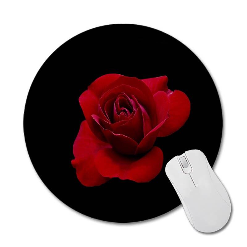 Maiyaca розы бутоны новый небольшой Размеры круглый Мышь Pad резиновым небуксующий Коврики для мыши