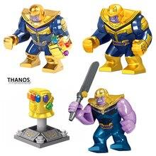 Avengers 3 Infinity War Super Hero Iron Man Block LegoING Thanos Energy Stones Gloves Spid