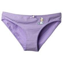 Zihooo Women Cartoon Bow Panties Sexy Cotton Hot Briefs Underwear Dot Low Waist For Girls Triangle Print Thong 4Pcs/lot P41