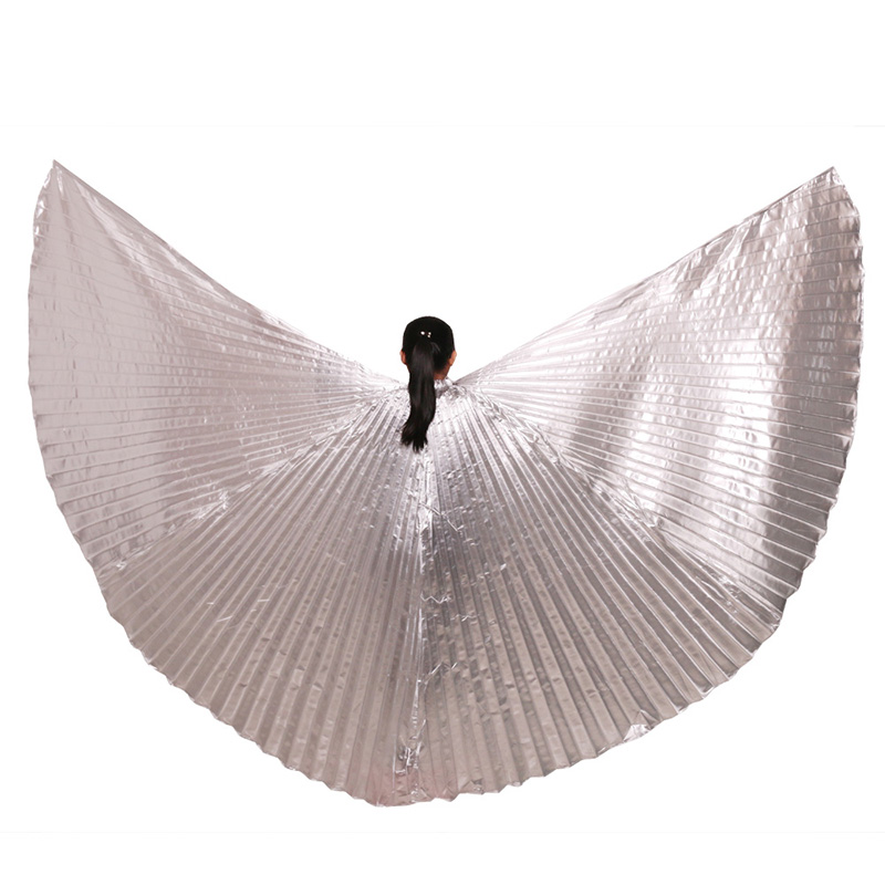 Belly Dance <font><b>Isis</b></font> <font><b>Wings</b></font> <font><b>Women</b></font> High quality Performance Props Dance Accessories Egyptian <font><b>Wings</b></font> without Sticks image