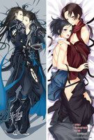 Fashion Japan Anime Hugging Body Pillow Case 150*50 Yaoi Male Character