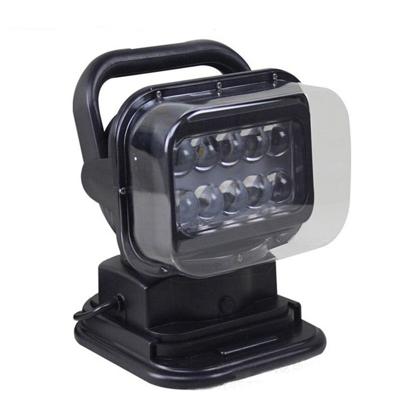 Автомобиль беспроводной пульт дистанционного прожектор поиск 6603 LED огни автомобиля внедорожных потолка автомобиля лампы свет модификации светильника 3200lm 12В 50Вт