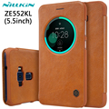 NILLKIN For Asus Zenfone 3 Ze552kl Case 5.5'' Hight Quality Leather Smart Case For Asus Zenfone 3 Ze552kl Sleep Function Cover