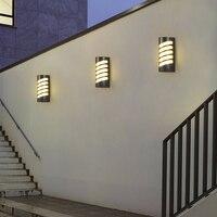 Door light waterproof garden light staircase outdoor aisle waterproof wall lamp modern minimalist LED outdoor wall lamp