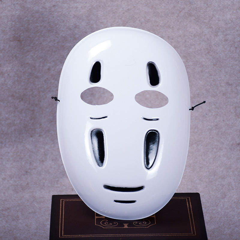 Spirited Away  Mask Faceless Cosplay helmet fancy Anime Halloween party Costume Spirited Away cosplay costumes