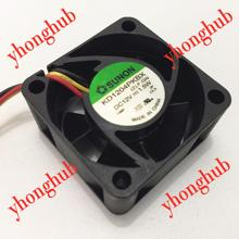 Free Shipping For SUNON KD1204PKBX (2).F.GN DC 12V 1.5W 3-wire 3-pin connector 40mm 40x40x20mm Server Square fan