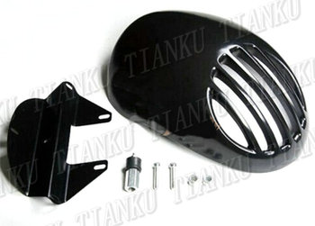 Grill Headlight Fairing Mask For Harley Davidson Sportster XL883 1200 48 72 Dyna Wide Glide Softail FLST FLT FLHT Harley-Davidson Sportster