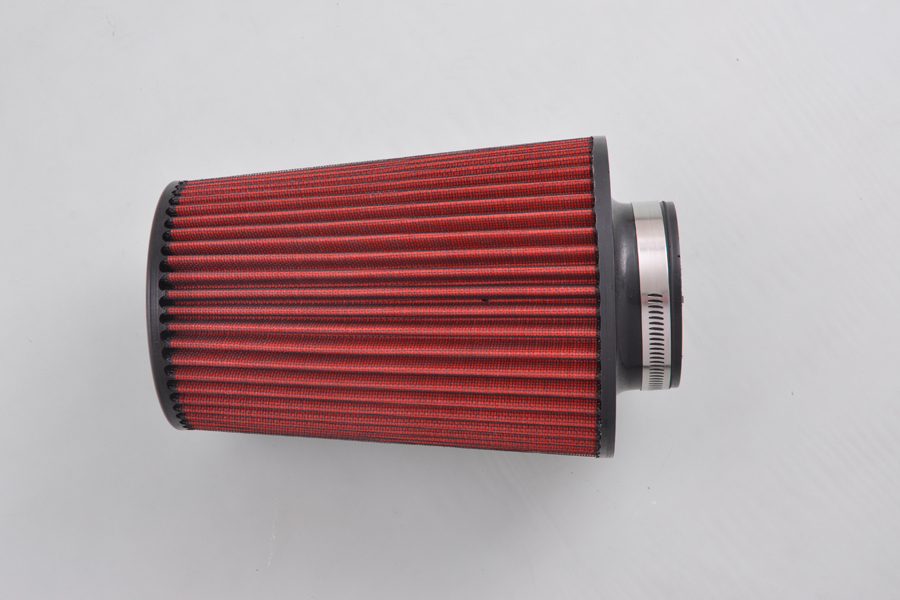 3 Inlet 7.87 Tall SHORT RAM/COLD AIR INTAKE/TURBO Conical Cone Air Filter [QPL134]