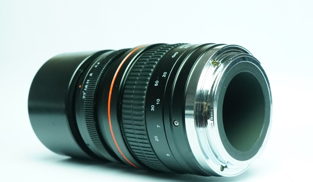 Objectif à focale fixe 135mm F2.8 plein format objectif Ed à Dispersion Ultra faible pour appareils photo numériques Nikon D600, D500, D7200, D7100, D5500