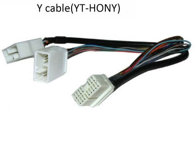 Beautiful Yatour For Honda/acura/goldwing 14pin Y Adapter Cable For Audio Navi Cdc Tuning 2006-2012 Models With The Most Up-To-Date Equipment And Techniques yt-hony