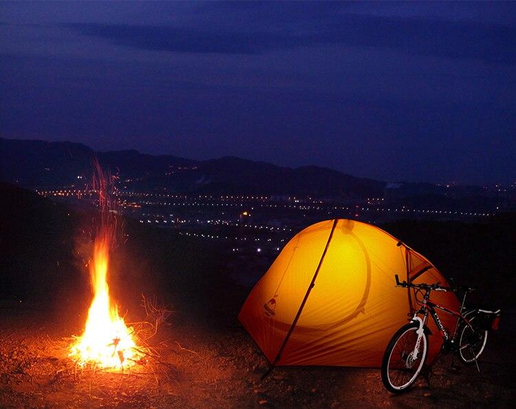 Naturehike 1.5kg ultraleve tenda 1 pessoa acampamento