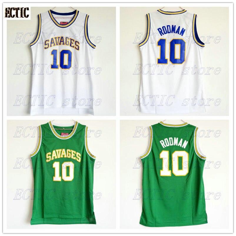 2748ba770 2018 ECTIC Mens College Jersey Dennis Rodman Basketball Jerseys Rodman 10  OKLAHOMA SAVAGES White Basketball Jersey Stitched-in Basketball Jerseys  from ...
