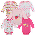 100% Cotton Baby Bodysuit one pieces Autumn Newborn Cotton Body Baby Long Sleeve Underwear Next Infant Boy Girl Pajamas Clothes