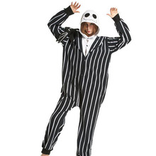 NORIVIIQ The Nightmare Before Christmas Skeleton Jack Unisex Adult Pajamas  sc 1 st  AliExpress.com & Buy jack skeleton costume and get free shipping on AliExpress.com