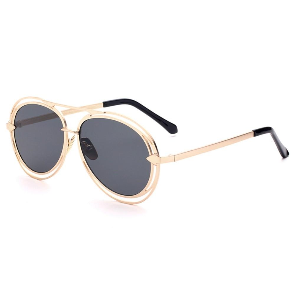 Eyewear Uomini Delle silver Sole black Classic Specchi Anti Da Metallo In Occhiali Uv400 gray tawny Degli Donne glare Freccia Blue pink qxHOwvHX7