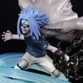 Аниме НАРУТО фигура shippuden Саске 19 см пвх фигурку TSUME ultimate chidori коллекция модель кукла juguetes hot