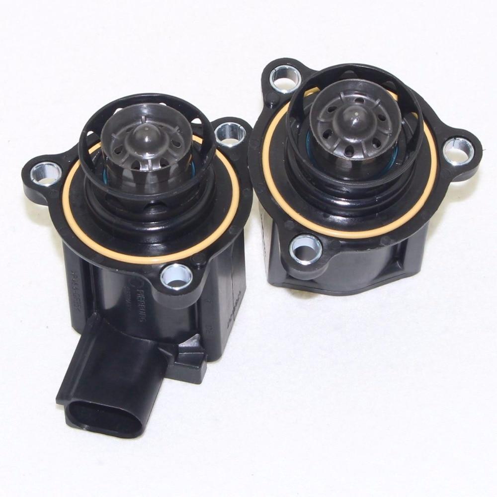 2pcs OEM Turbo Cut off Valve Turbocharged breaker For VW Golf MK6 Jetta MK5 Passat B6 GTI Octavia 06H145710D 06H 145 710 D