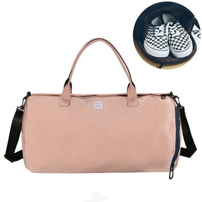Canvas Women's Travel Bags Yoga Gym Bag for Fitness Shoes Handbags Shoulder Crossbody Pouch Women Men Sac De Sport Pack XA488WA