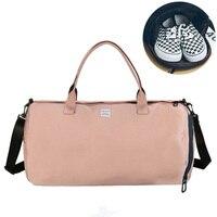 Canvas Women S Travel Bags Yoga Gym Bag For Fitness Shoes Handbags Shoulder Crossbody Pouch Women