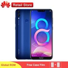 Küresel Firmware Huawei Onur 8C 4G 4000 mAh Smartphone 6.26
