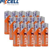12PCS PKCELL  Ni Zn 2500mWh battery 1.6V AA Rechargeable Batteries For digital camera,CD,Game machine,toy