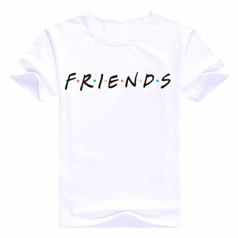 Новинка, Харадзюку, летние топы с буквенным принтом, модные повседневные футболки для женщин, друзей, ТВ шоу, футболка, подарок, футболка