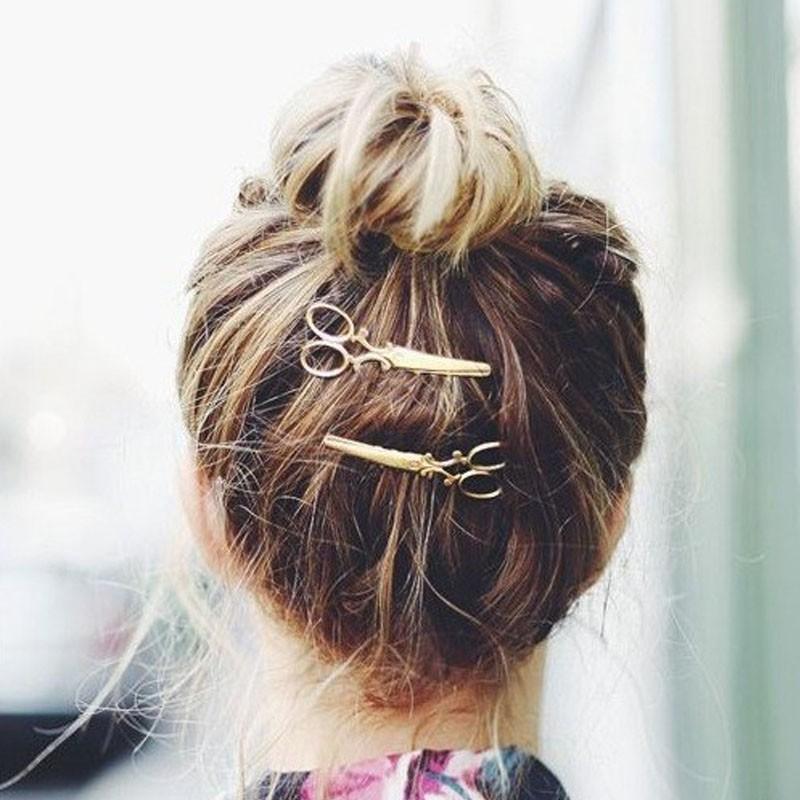 HTB1vXGTLVXXXXXyXFXXq6xXFXXXm Hip Women Scissors/Branches Fashion Clip For Hair - 2 Colors