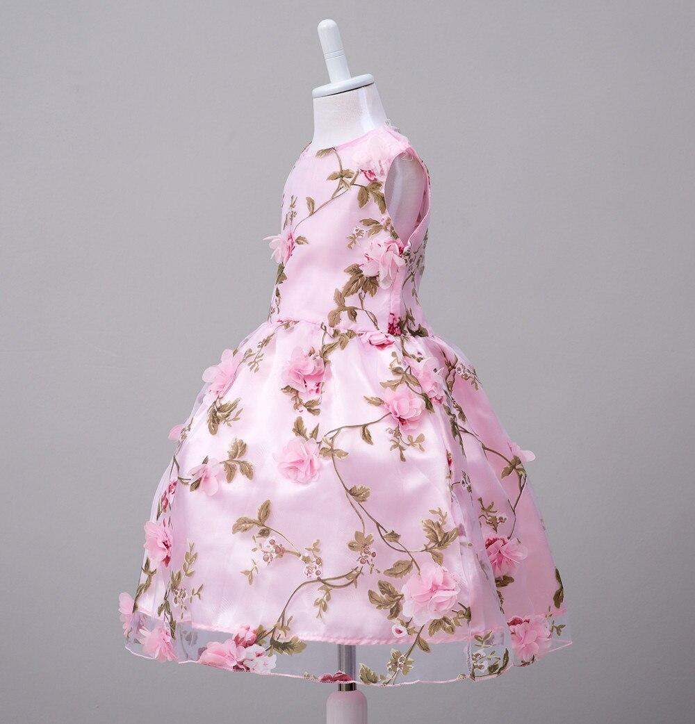 Nueva moda niños vestido de fiesta para niña princesa vestido de ...