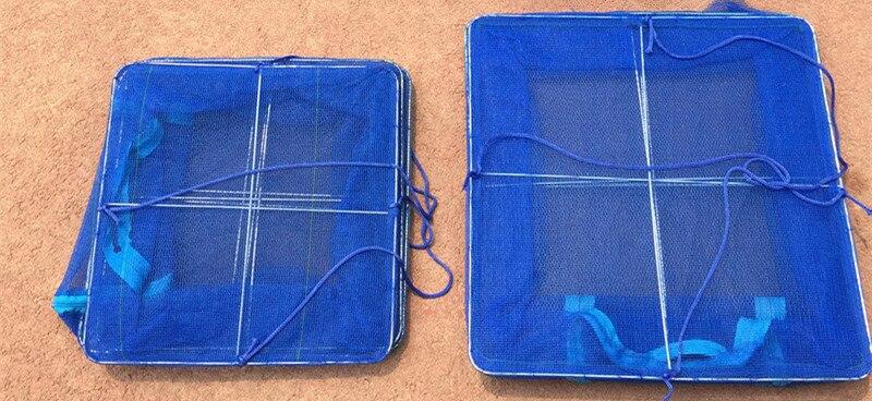 Foldable 3 Layers PE Hanging Fish Drying Rack Net Small Mesh Vegetable Herb Food Drying Network 30x30x65cm 40x40x65cm (5)_
