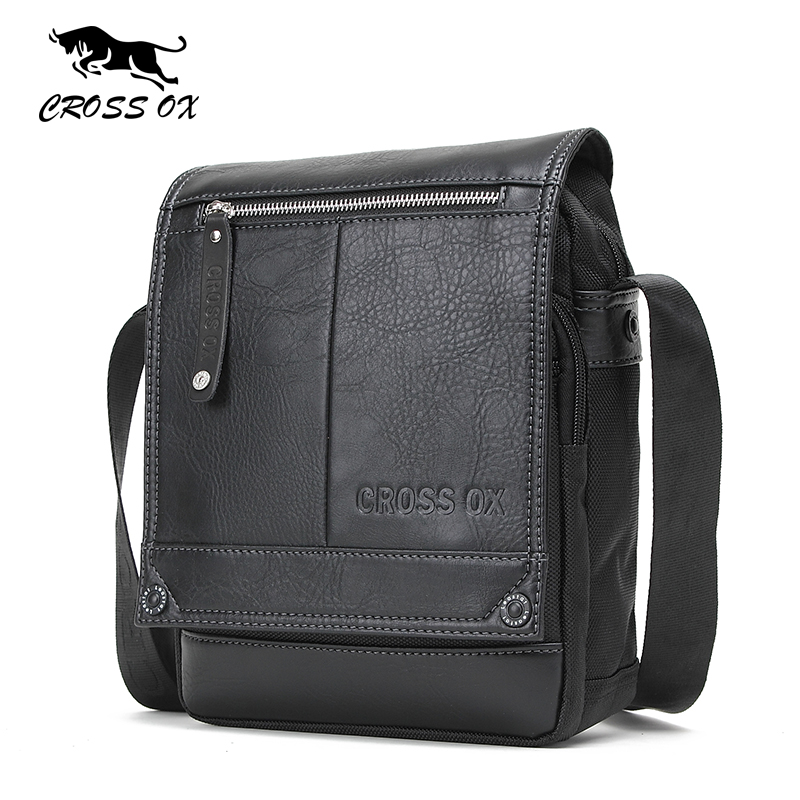 CROSS OX 2017 New Arrival Spring Fashion Men's Cross Body Shoulder Bags For Men Messenger Bag Business Casual iPad Bag SL384M fashion new shoulder bag carrying case for dji spark drone body remote controller batteries ipad