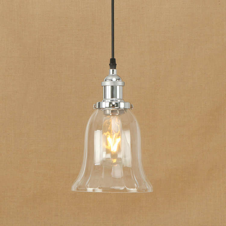 IWHD Glass Retro Lamp LED Loft Industrial Vintage Pendant Light Fixtures Home Lighting Iron Bedroom Living Room Iluminacion iwhd american style wood vintage pendant light fixtures iron retro loft industrial hanging lamp led living room hanglamp lustre