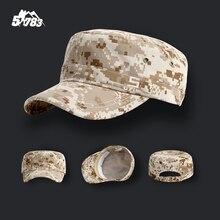 Армейская камуфляжная кепка в военном стиле для мужчин Мультикам солдат боевой поезд тактическая шляпа плоская наружная страйкбол Пейнтбол Охота бейсболка s