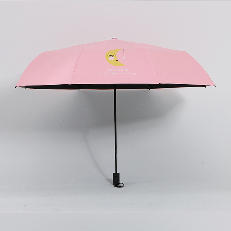 YADA NEW Design Moon Pattern Folding Rainy Umbrella Anti UV Rainproof Sun Protection Parasol Love You To The Moon Umbrella YD021 in Umbrellas from Home Garden