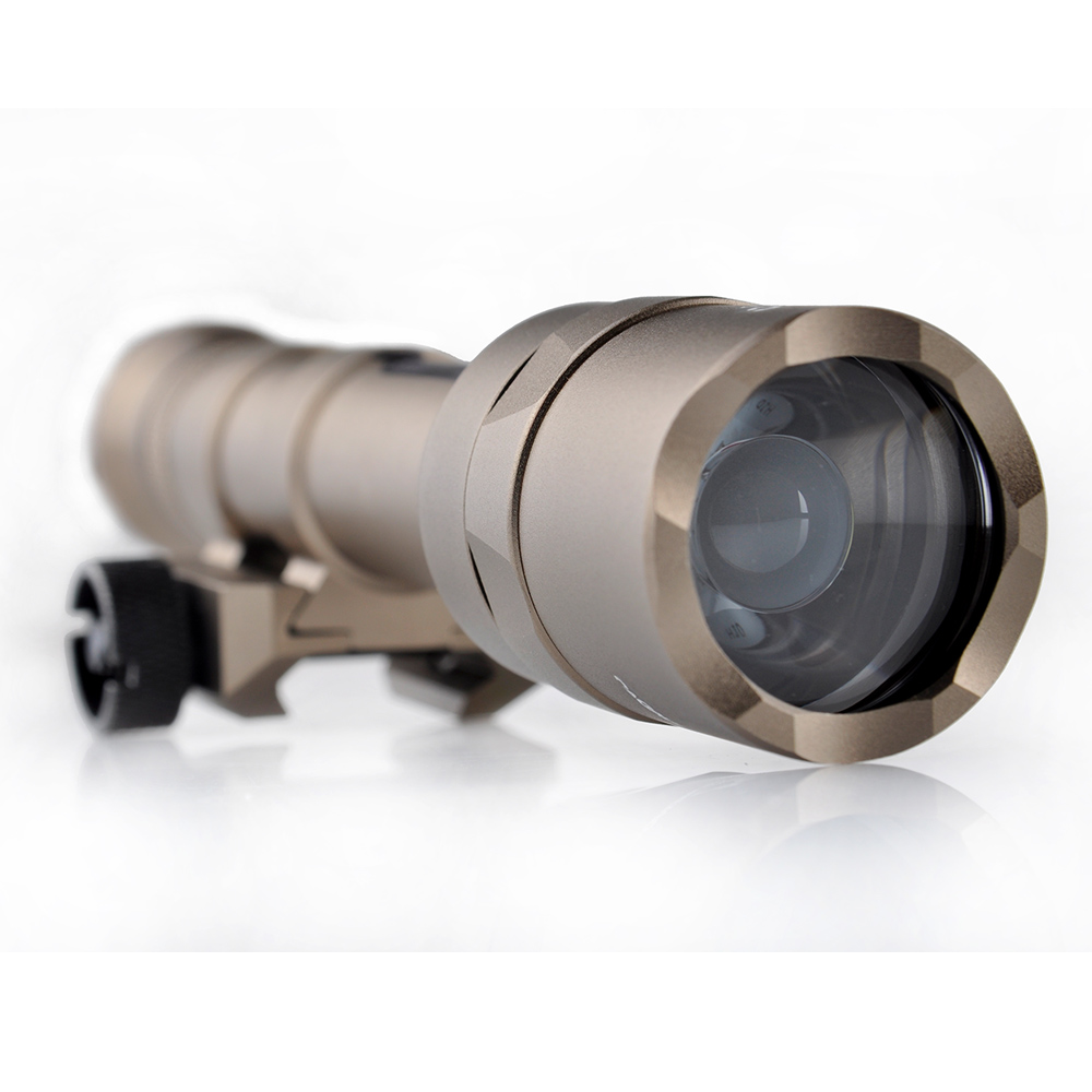 WIPSON SF M600U Scout Tacticallight LED 500 Lumens CREE LED XP-G R5 Pistol Flashlight Full Version Hunting Gun Waterproof Torch fenix ld09 2015 version 220 lumens cree xp e2 r3 led flashlight