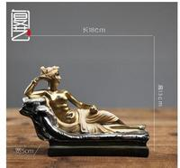 Hand Engraving Artwork Retro Medieval Rome Character Armor Knight Model Living Room Decoration Home Furnishing Office