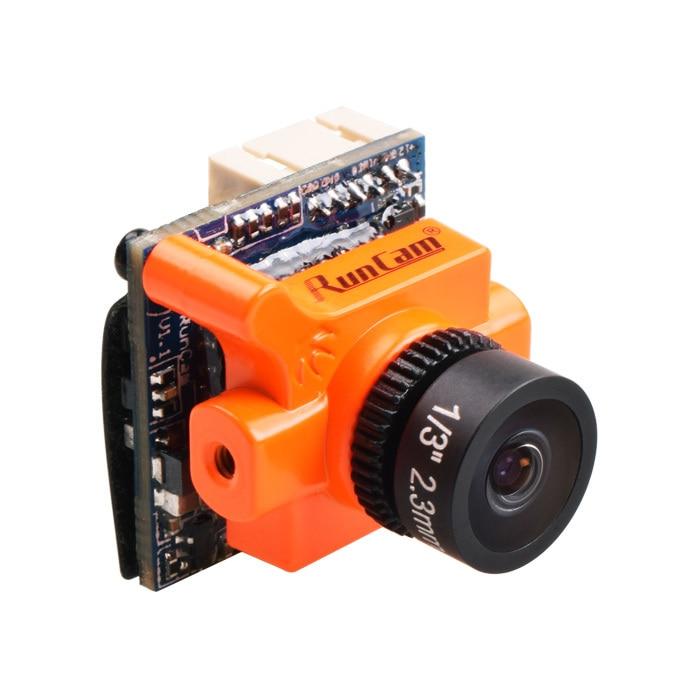 Новые runcam Micro Swift 2 600TVL 2.1 мм угол обзора 160 градусов 1/3 ''ПЗС FPV-системы Камера интегрированы OSD для FPV-системы гонщик