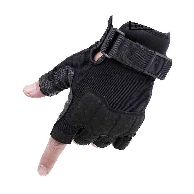 Skid war sports protective riding half mittens protective outdoor war game military skull half face shield mask black