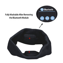 Wearable Bluetooth Music Hands Free Headband Speaker Wireless Stereo Sport Running Yoga Sleeping Headphones Headset Earbuds